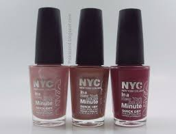 frazzle and aniploish nyc in a new york color minute sampler