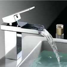Waterfall Style Faucet Cosy Bathroom Sink Waterfall Faucets Waterfall Style Bathroom Sink