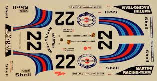 martini rossi logo decals porsche 917 k martini le mans 1971 profil24 models