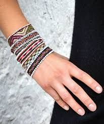 weave friendship bracelet images Amaru bracelets sets of 3 jpg