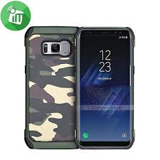 camouflage shockproof armor back cover for samsung galaxy s8
