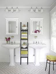 Best Pedestal Sink Storage Solutions Images On Pinterest Room - Bathroom shelf designs