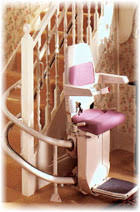 stannah 250 reconditioned curved stairlift dolphin mobility ltd