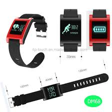 heart healthy bracelet images China digital heart rate smart bracelet wristband watch healthy jpg