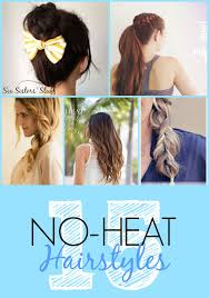 easy waitress hairstyles 15 easy no heat hair tutorials six sisters stuff
