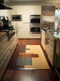 Modern Kitchen Rugs Rustic Rugs Modern Kitchen Los Angeles By Crogan