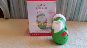 jolly st pickolas 2015 hallmark pickle ornament