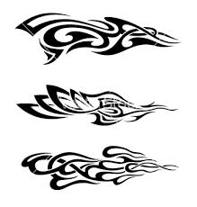 drum in flames tattoo design