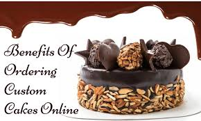cakes online what are the benefits of ordering custom cakes online