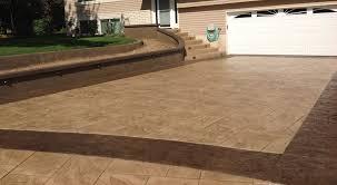 Textured Concrete Patio by Stamped Concrete Contractors Portland Gwc Decorative Concrete