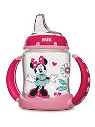 amazon nuk disney learner cup silicone spout minnie