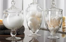 bathroom apothecary jar ideas apothecary jars decorating bathroom eclectic decoration jar