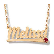 name charms solid gold name necklace nameplate necklace