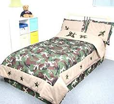 Army Bed Set Camouflage Army Boy Childrens Bedding Set 5