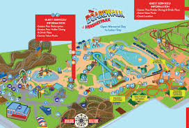 park maps summer fall winter hersheypark