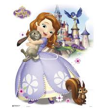 online get cheap sofia the first wall decoration aliexpress oem sofia the first princess cartoon newest pattern wallpaper stickers mural art home customized cute retro