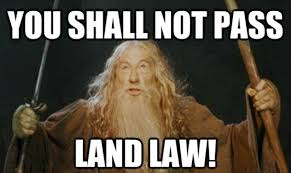 Meme Law - anger and confusion as durham students are given the wrong land law