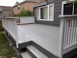greatly finished deck home horizon painting
