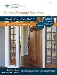 home buyers protection plan 1st american mid atlantic home warranty brochure 2016