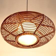 Light Pendants Uk Nilight Handmade Modern Rattan Ceiling Pendant L Lighting
