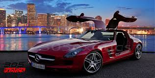 mercedes of miami sls rental miami