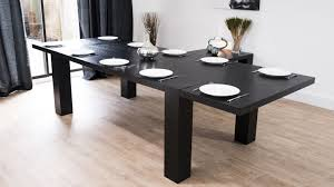 Black Extending Dining Table And Chairs Dining Black Extendable Dining Table