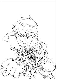 3 plain ben ten coloring pages ngbasic