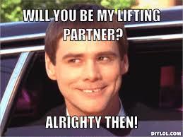 Workout Partner Meme - onerepublicfitness