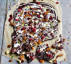 food christmas gifts salted fruit n nut bark recipe food
