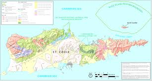 Map Of Caribbean Islands by St Croix Map Us Virgin Islands Map Adorable St Croix Caribbean Map