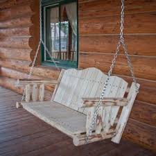 rustic porch swing front hanging teamns info