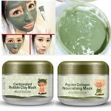 Collagen Mask skin care pigskin collagen nourishing mask carbonated clay