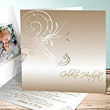 einladungskarten goldene hochzeit mit foto suchergebnis auf de für einladungskarten goldene hochzeit
