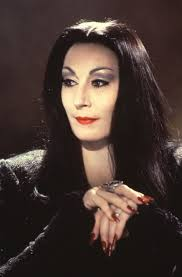 halloween background family morticia addams angelica huston inspirational pinterest
