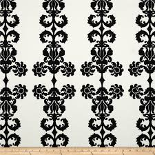 vicki payne home decor sateen damask black discount designer