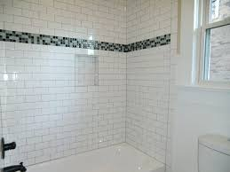 tiles bathroom shower subway tile designs bathroom white glass