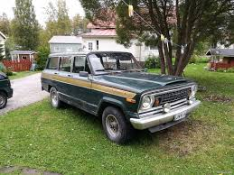 jeep wagoneer 1990 jeep wagoneer 4x4 1975 used vehicle nettiauto