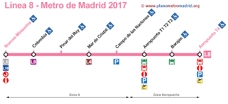 Metro Line Map by Maps Of The Madrid Subway Lines Line By Line With Extra Info