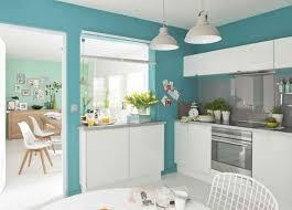 modele de peinture pour cuisine peinture de cuisine cuisine mur bleu turquoise cuisine mur bleu