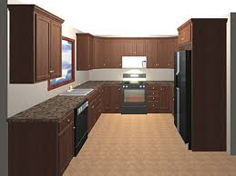 u shaped small kitchen designs top home design