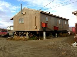 houses on stilts nome muckin u0027 around