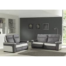 canap relax gris canapé relaxation 3 2 switsofa colbert gris blanc achat vente