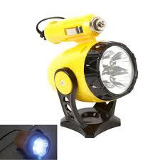 12v 5 led flashlight car auto cigarette lighter magnetic emergency