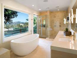 bathroom beautiful beige white wood stainless simple design