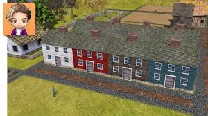 banished colonial charter 1 7 part 3 saltbox houses youtube