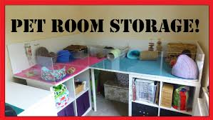 Room Storage by Storage Solutions Pet Room And Craft Room In One Youtube