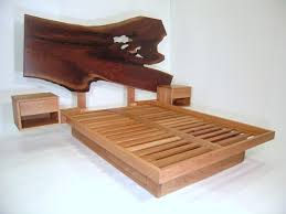 Live Edge Headboard by How To Choose The Right Headboard For Platform Bed Home Design