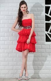 red cocktail dress knee length u2013 dress ideas