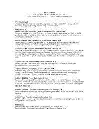 Sample Fast Food Resume by Resume Food Service Examples Example Food And Beverage Operations
