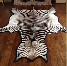 Genuine Zebra Rug Zebra Skin Rug Wall Hanging The Flying Fox